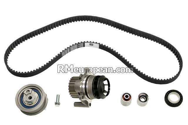 Audi CONTITECH Timing Belt Kit with Water Pump 216088001