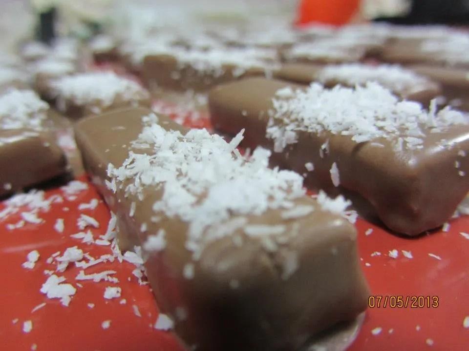 Chocolate, coconuts, pralines