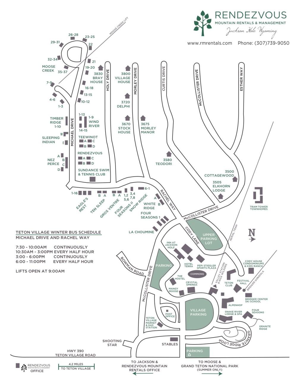 medium resolution of teton village map
