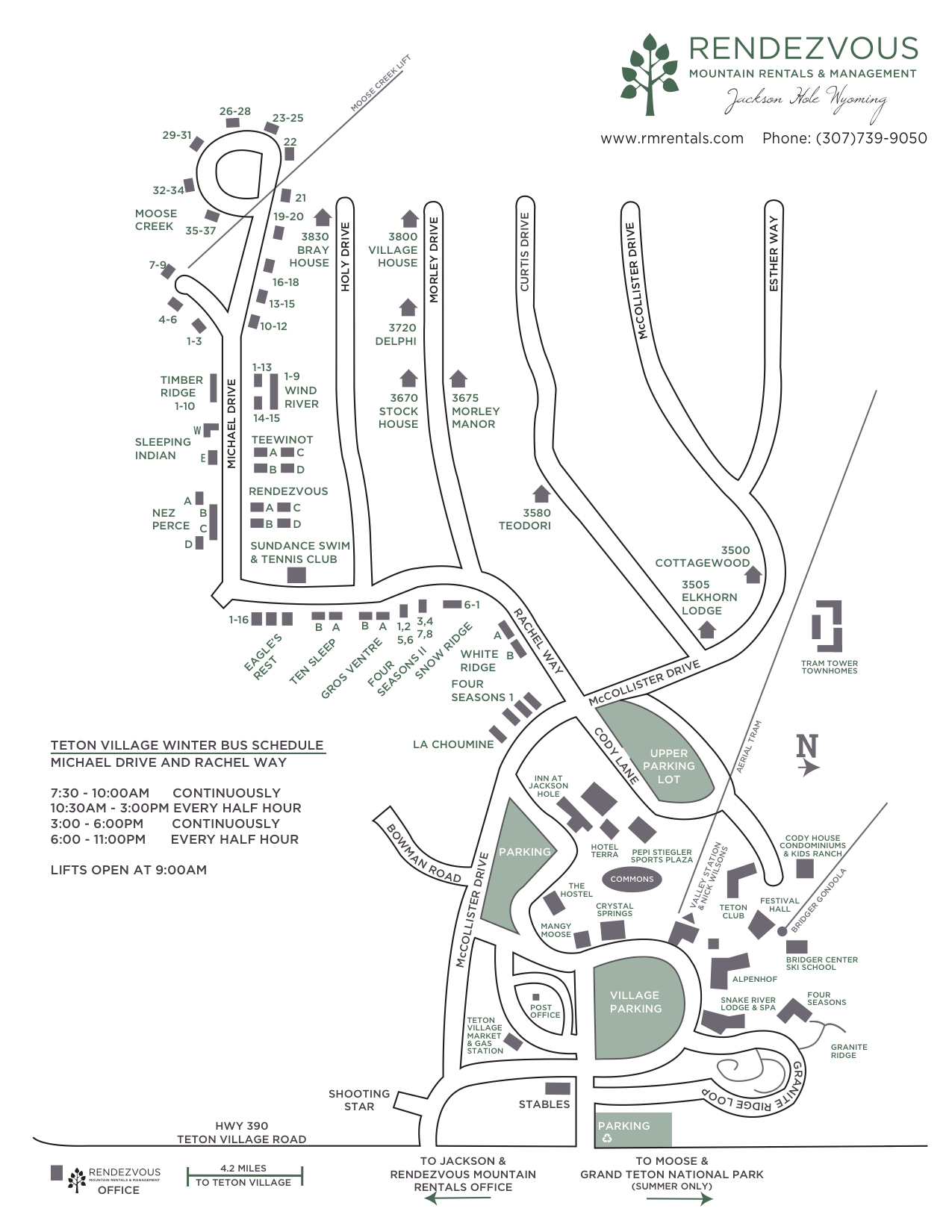 hight resolution of teton village map