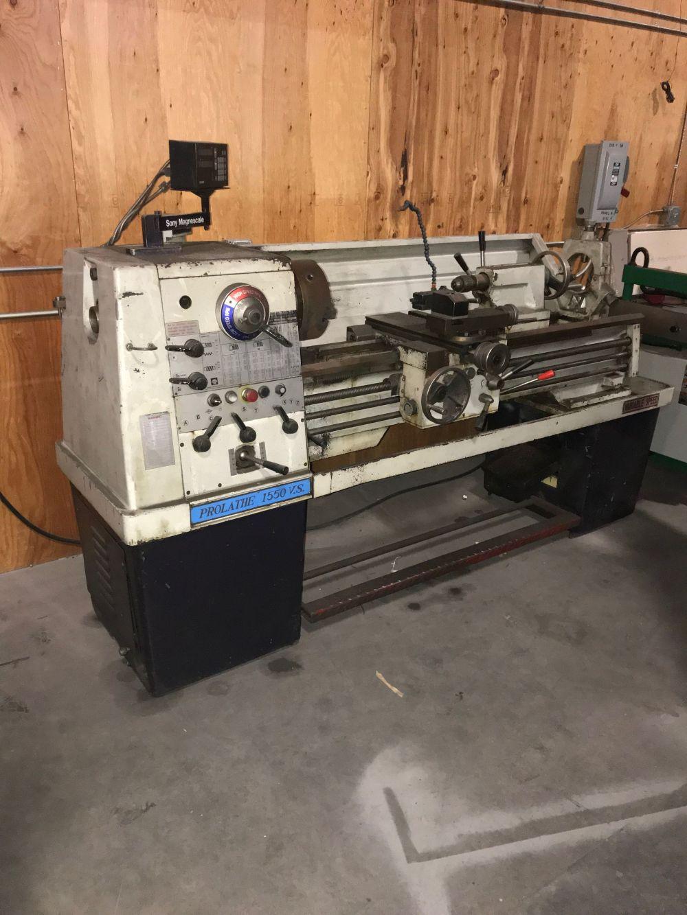 Used PROLATHE 1550 V.S. - CP1550VS