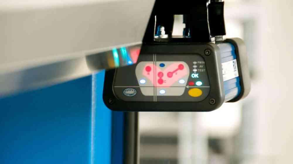 RMT DSP Press Brake Safety Laser System