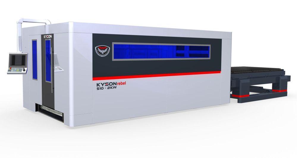 New KYSON rebel 510 500 Watt IPG Fiber Laser www.RMTUS.com