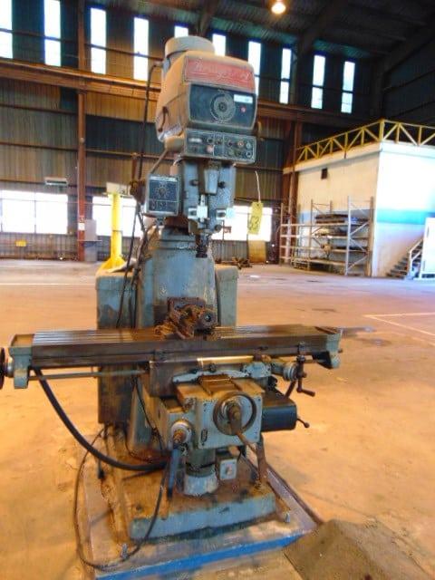 Bridgeport Series 11 Manual Vertical Milling Machine