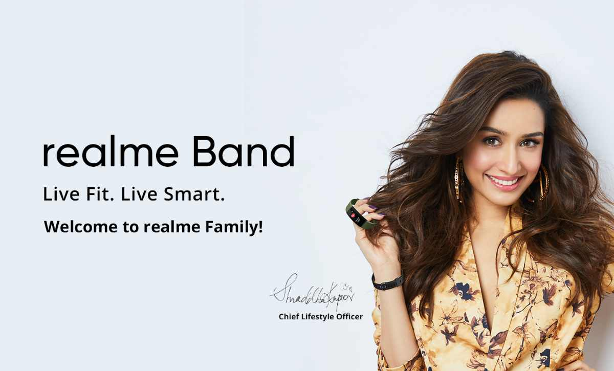 Realme Named Shraddha Kapoor as Brand Ambassador For AIoT Products - Realme Updates