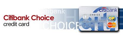 Citibank Master Choice Credit Card
