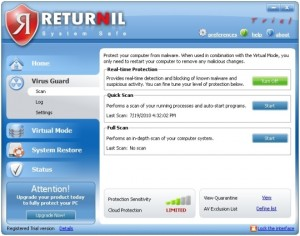 Returnil System Safe Free 2011