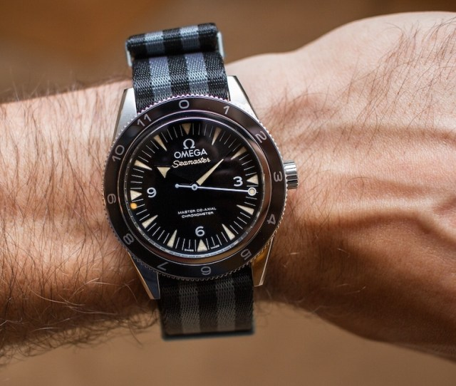 Omega Seamaster 300 Spectre Limited Edition James Bond Watch Hands On Hands On