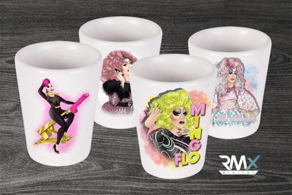 Flo Shot Glass Set