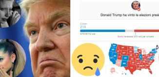 Reazioni Cantanti Trump Vittoria