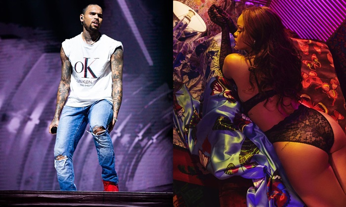 Rihanna Chris Brown Lingerie Fashion Show Thirst Trap