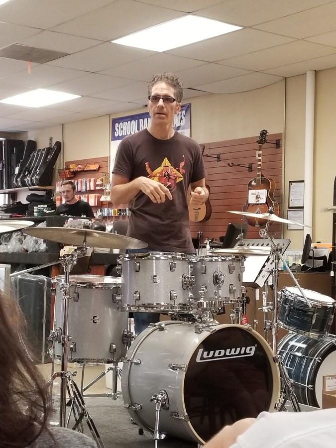 Creative Drumming Workshop with John Citrone01