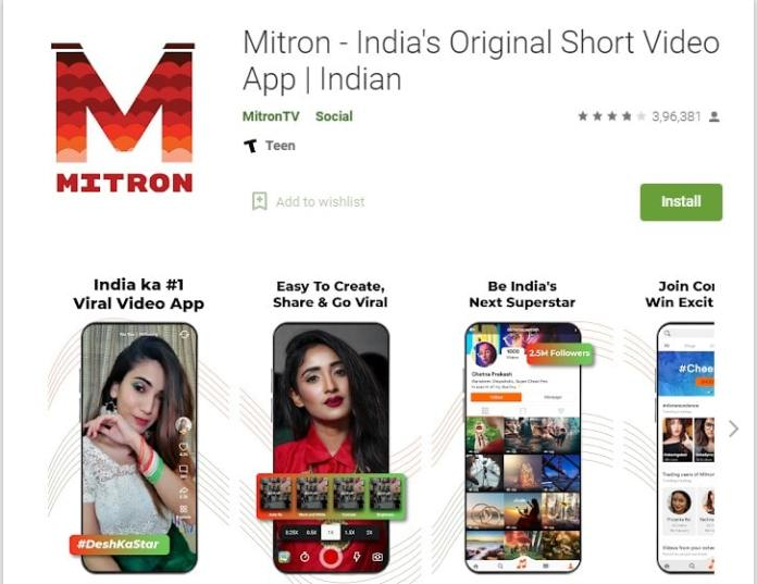 How to make video on Mitron app