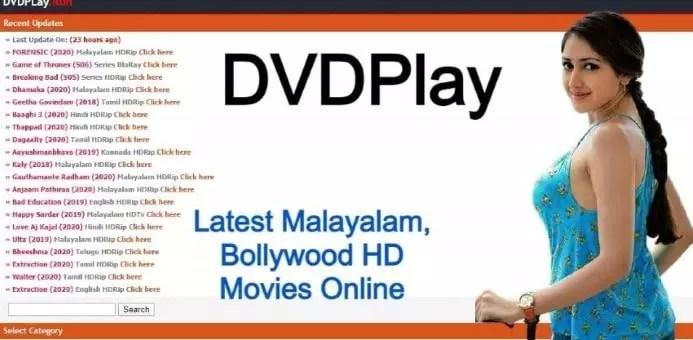 DVDPlay: Free Download Latest Malayalam, Bollywood HD Movies Online
