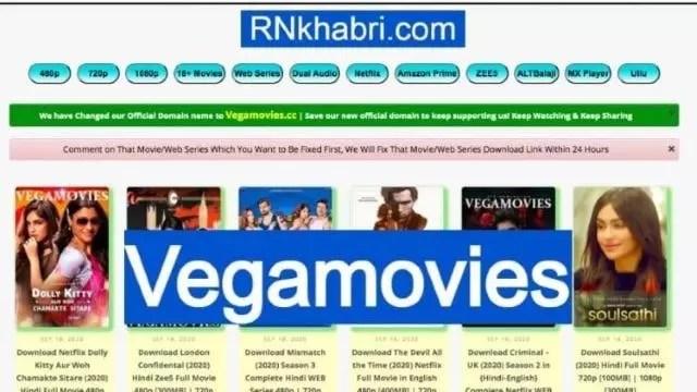 Vegamovies: Free Download Bollywood 300MB, 480p, 720p Movies & Web Series