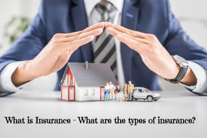 What is Insurance - What are the types of insurance?