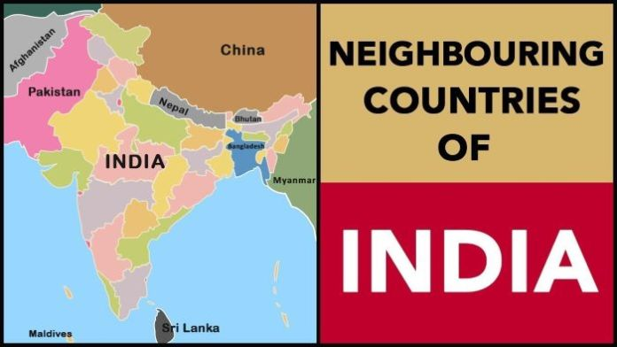 Neighboring Countries of India and Their Capital 2021