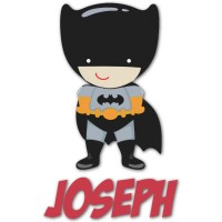 Superhero Graphic Wall Decal (Personalized) - RNK Shops