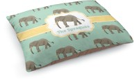 Elephant Dog Pillow Bed (Personalized) - You Customize It