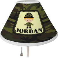 Green Camo Lamp Shade - Medium (Personalized) - You ...