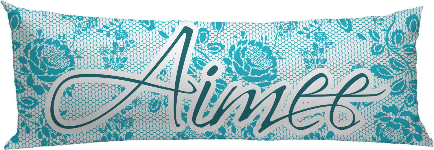 Lace Body Pillow Case (Personalized)