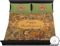 Thanksgiving Duvet Cover Set - King (Personalized ...