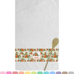 Personalized Kitchen Towels Cafe Curtains For Pumpkins Towel You Customize It