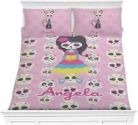 Kids Sugar Skulls Comforter Set - Full / Queen ...