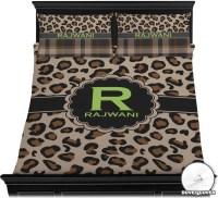 Granite Leopard Duvet Cover Set - Full / Queen ...
