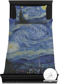The Starry Night (Van Gogh 1889) Duvet Cover Set - You ...
