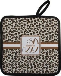 Leopard Print Pot Holder (Personalized) - YouCustomizeIt
