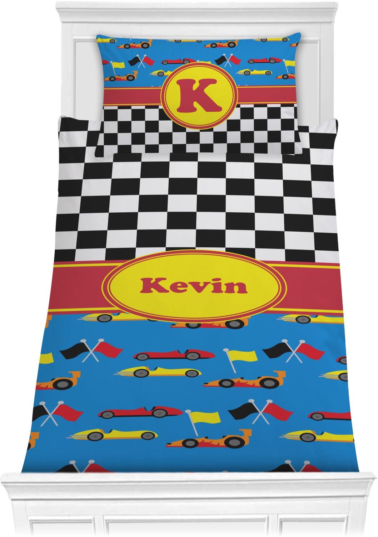 Racing Car Comforter Set
