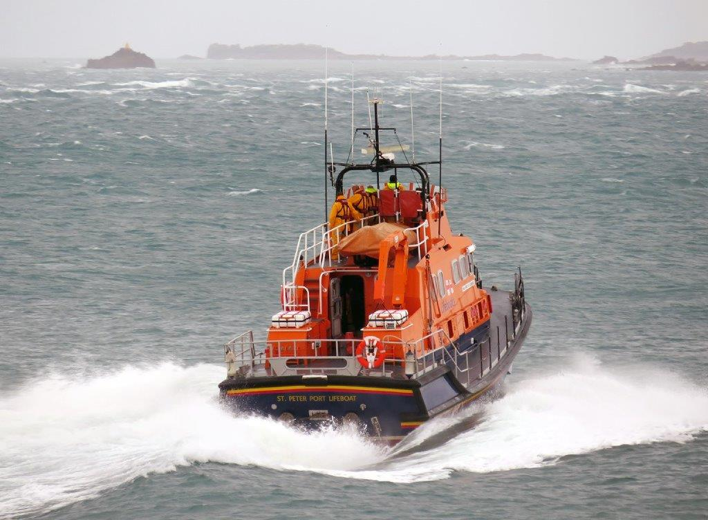 2015 The RNLI St Peter Port Lifeboat