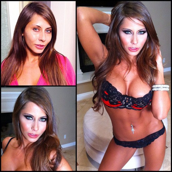 madison ivy personal trainer - Makeup transformation of Madison Ivy