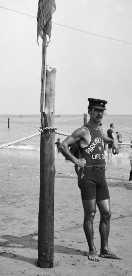 1920's lifeguard