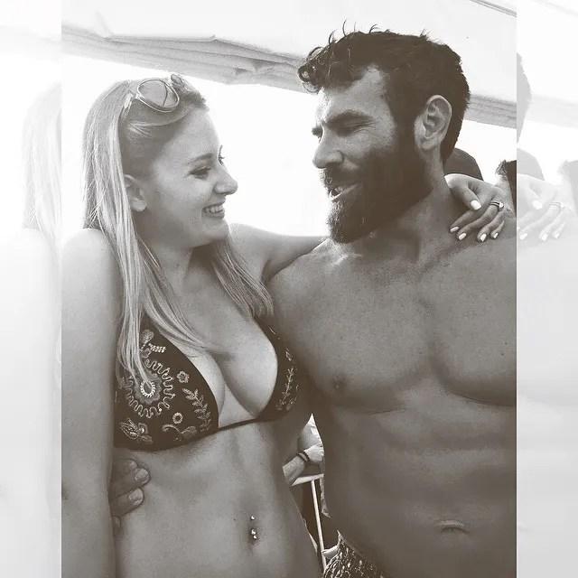 Claire Abbott and Dan Bilzerian
