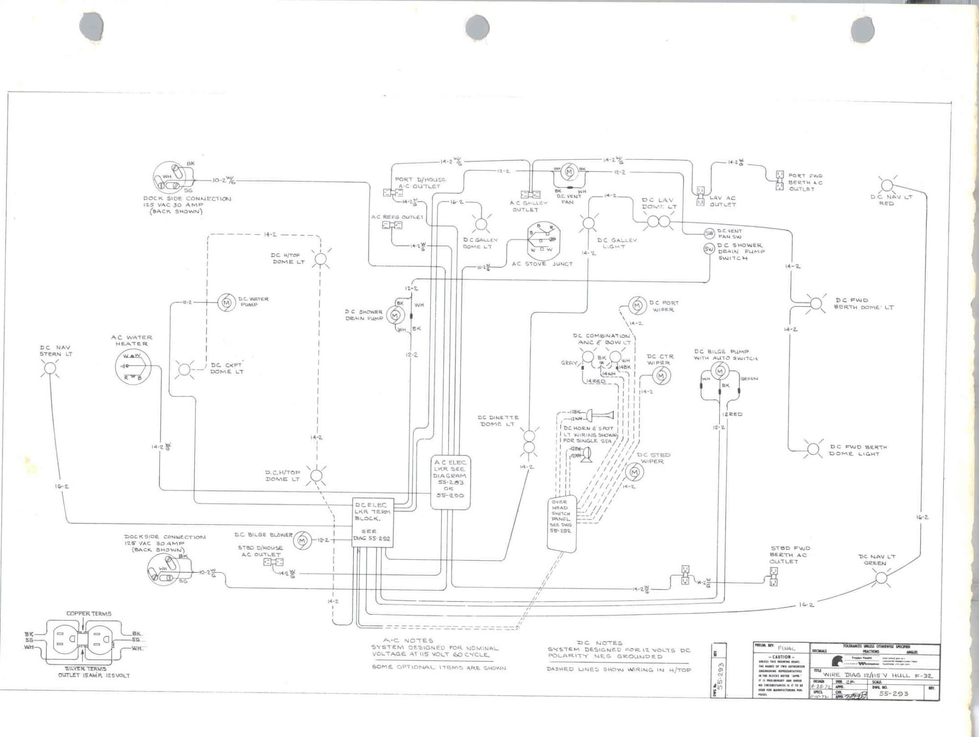 hight resolution of original f 32 schematics and wiring diagrams trojan boat forum trojan battery wiring diagram trojan wiring diagram