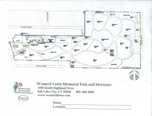 Wasatch Lawn Cemetery Map
