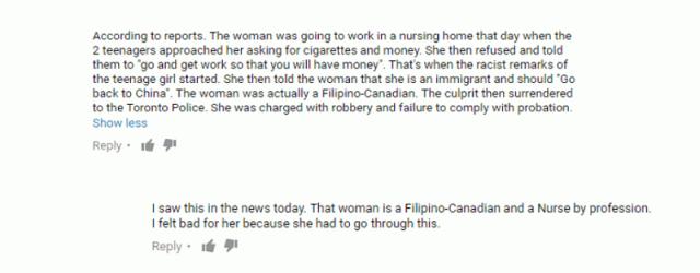 tweets filipino nurse descriminated