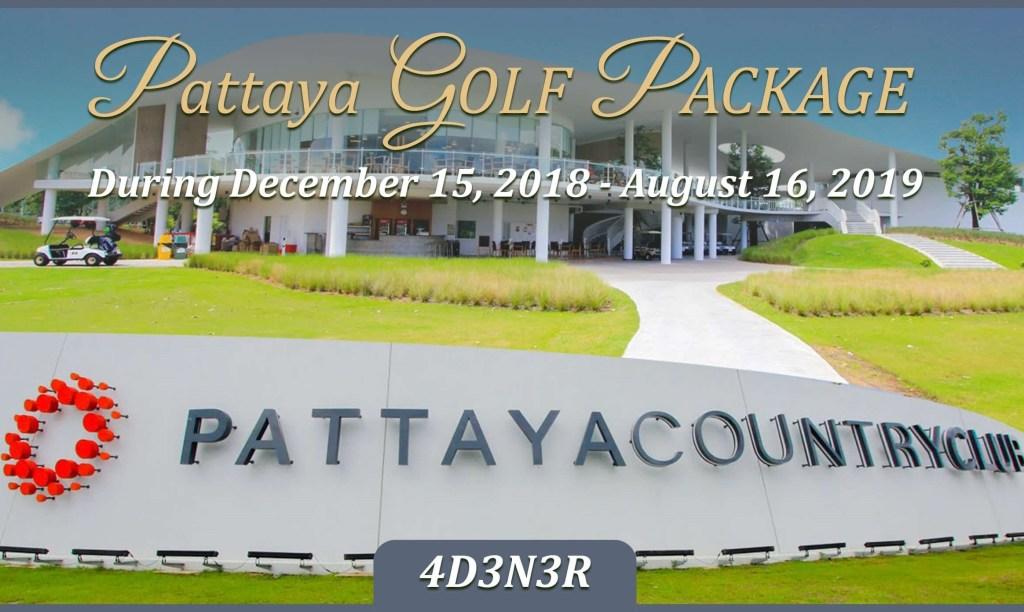 Pattaya Golf Package