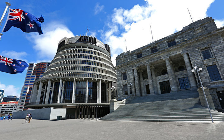 Parliament and Beehive
