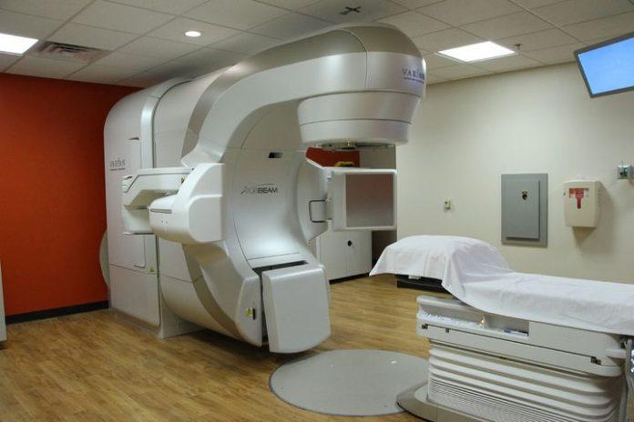 Radiation treatment room