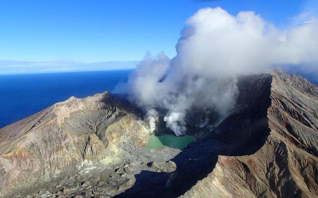 White Island Sulphur Level 2nd Highest Since Measurements