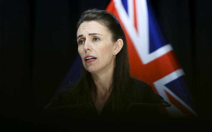 WELLINGTON, NEW ZEALAND - APRIL 30: Prime Minister Jacinda Ardern speaks to media during a press conference at Parliament on April 30, 2020 in Wellington, New Zealand.