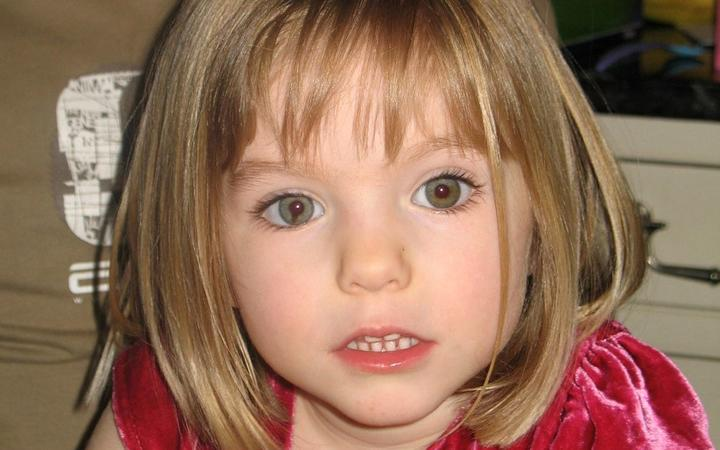 An undated handout photograph released by the Metropolitan Police in London on 3 June 2020, shows Madeleine McCann who disappeared in Praia da Luz, Portugal on 3 May 2007.