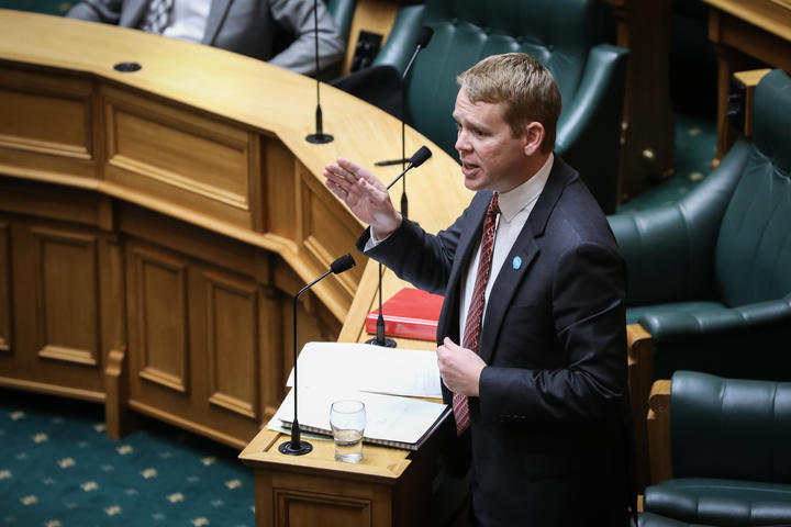 Chris Hipkins in the House