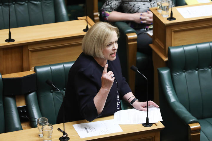 The Leader of the Opposition Judith Collins in the House