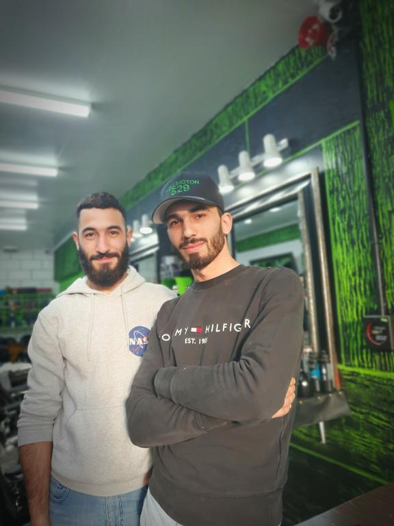 Mohummed and Raed Aldani (R-L)