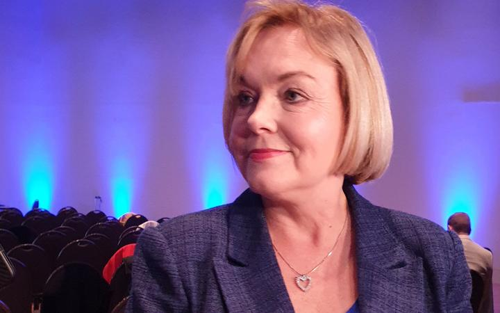 Judith Collins at the National Party AGM.
