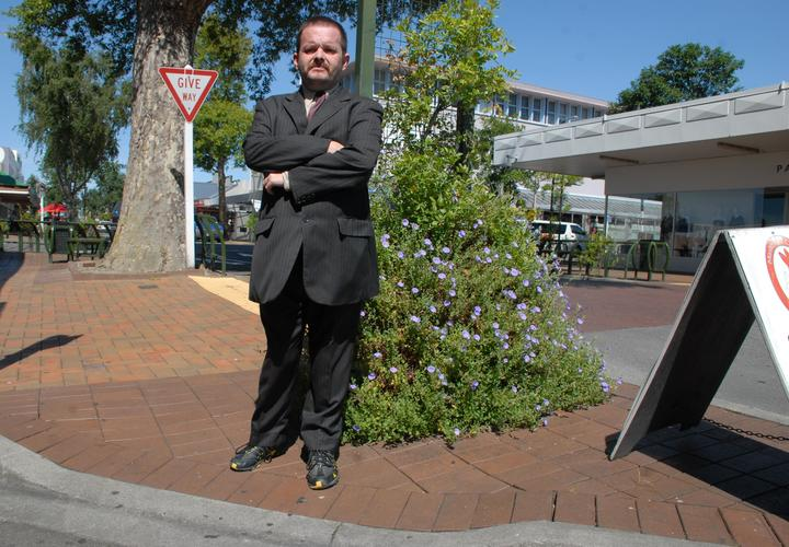 Masterton disability spokesperson Peter Knighton will be going on a tour with Mayor Lyn Patterson, council officers and police to see which parts of the CBD can be made more accessible to people with disabilities.